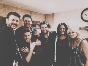 Chris Young, Blake Shelton, The Swon Brothers, Miranda Lambert